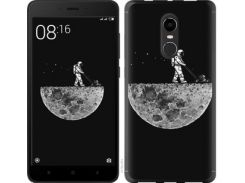 Чехол EndorPhone на Xiaomi Redmi Note 4X Moon in dark (4176m-951)