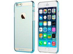 Ультратонкая накладка TOTU Breeze для iPhone 6S Plus/6 Plus Blue