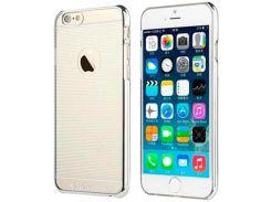 Ультратонкая накладка TOTU Breeze для iPhone 6S Plus/6 Plus Silver
