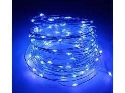Гирлянда светодиодная Lighteer Technology Limited 10 м 100 led на батарейках Blue (000001170)