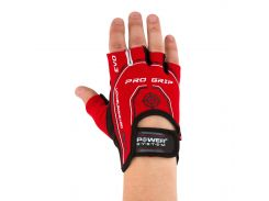 Перчатки для фитнеса и тяжелой атлетики Power System Pro Grip EVO PS-2250E S Red