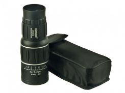 Монокуляр с чехлом BUSHNELL 16x52 с двойной фокусировкой Черный (in-40)