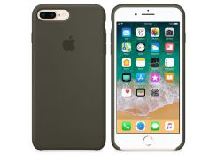 Панель Cija Silicone Case для iPhone 7/8 Plus Darck Olive (36981)