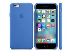 Чехол Foxcon iPhone 6/6S Plus Silicone Case Royal Blue (53635)