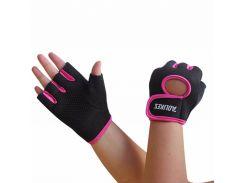 Перчатки для фитнеса Aolikes RQVACSDYQUW S Черно-розовый (gab_krp100Typh26685)