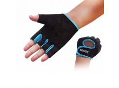Перчатки для фитнеса Aolikes HQYGIYGQWS S Черно-голубой (gab_krp100fXsv51893)