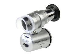 Карманный микроскоп Kromatech MG 9882 60X Серый (mdr_0401)