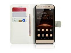 Чехол-книжка Litchie Wallet для Huawei Y5 II / Y5 2 White (lwwh0092)
