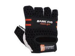 Перчатки для фитнеса и тяжелой атлетики Power System Basic EVO PS-2100 XL Black/Red Line (VZ55PS_2100E_XL_Black/Red)