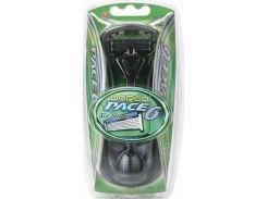 Станок для гоління Dorco Pace 6 + 2 картриджі (116068)