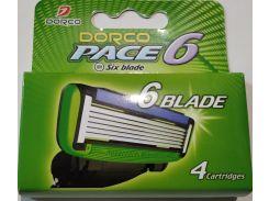 Картридж Dorco Pace 6 4 шт (116129)