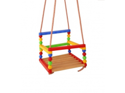 Детские качели MToys подвесные 30х30х25 см (S0012R)
