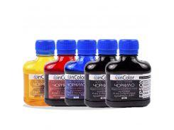 Комплект чернил InColor для фотопечати на Epson Expression Premium XP-605 5 x 100 мл BK/C/M/Y/BK (hub_QznL24343)