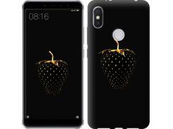 Чехол EndorPhone на Lenovo S5 Pro Черная клубника (3585m-1615)