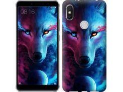 Чехол EndorPhone на Lenovo S5 Pro Арт-волк (3999m-1615)