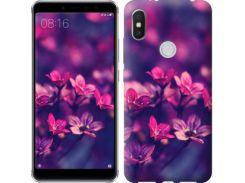 Чехол EndorPhone на Lenovo S5 Pro Пурпурные цветы (2719m-1615)
