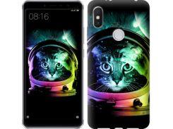 Чехол EndorPhone на Lenovo S5 Pro Кот-астронавт (4154m-1615)