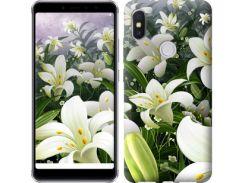 Чехол EndorPhone на Lenovo S5 Pro Белые лилии (2686m-1615)