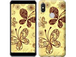 Чехол EndorPhone на Lenovo S5 Pro Красивые бабочки (4170m-1615)