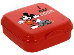 Ланч-бокс Herevin Disney Mickey Mouse 15х15х5 см (UK-161456-012_psg)