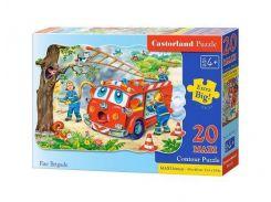 Пазл Castorland Макси Пожарные 20 эл С-02146 (tsi_21536)