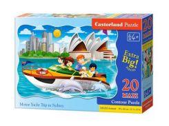 Пазл Castorland Макси Поездка на катере в Сиднее 20 элементов С-02375 (tsi_38306)