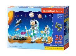 Пазл Castorland Путешествие в космосе maxi 20 элементов С-02344 (tsi_38303)