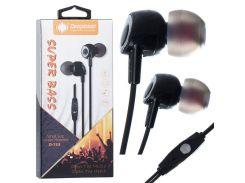 Наушники с микрофоном Deepbass D153 Черные (30544)