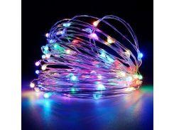 Cветодиодная гирлянда Lighteer Technology Limited 10 м 100 led от сети 220 В Разноцветная (000001190)