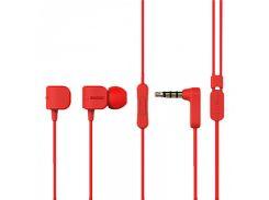 Вакуумные наушники Remax RM-502 Red (hub_3456)