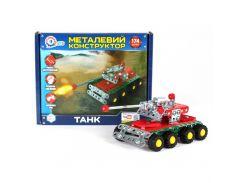 Конструктор металлический Technok Танк 174 элемента (T17400)