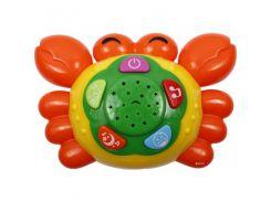 Игрушка-проектор Веселый Крабик Разноцветный (gab_krp120Dify91825)