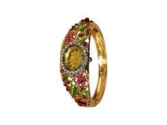 Кварцевые часы с цветочным орнаментом Supretto (5082-0001)