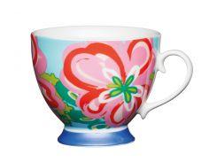 Чашка фарфоровая KitchenCraft  400 мл Разноцветный (775283)