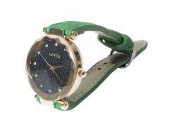 Женские часы LSVTR Fashion Green (2609-7358а)