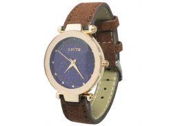 Женские часы LSVTR Fashion Brown (2609-7357а)