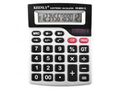 Настольный калькулятор Keenly KK883312 Серый (30-SAN284)