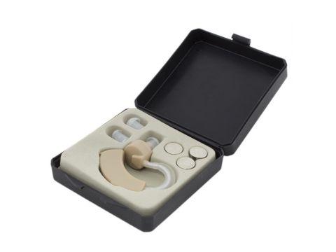 Слуховой аппарат заушный Cyber Sonic + 3 батарейки (md904)