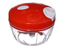 Универсальный измельчитель овощей Speedy Chopper 300 мл Красный (hub_np2_0353)