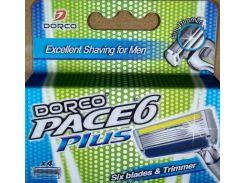 Картридж Dorco Pace 6 Plus 4 шт (116877)