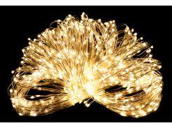 Светодиодная гирлянда нить LTL 18 м 200 led 220V Теплый золотистый (hub_zQpE77794)