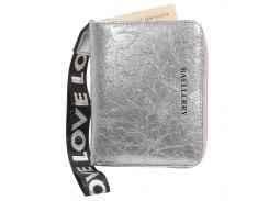 Женский кошелек Baellerry DR022 Silver с ремешком (3544-10241)