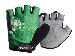 Велорукавички PowerPlay 002 C Зелені XS (FO83002C_XS_Green)