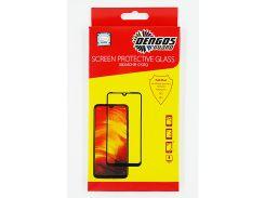 Защитное стекло DENGOS (Tempered Glass Full Glue 5D) для Huawei P20 Lite, черная рамка