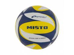 Волейбольный мяч Spokey Misto размер 5 White-Blue-Yellow (s0003)