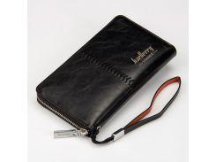 Кошелек - портмоне Baellery leather Черный (0081)