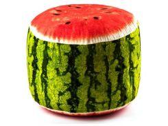Мягкий надувной пуфик FRUIT POUF Kronos Toys FP-01-01 Зеленый (tsi_55906)