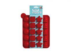 Форма для выпекания мини тортиков KitchenCraft SDI 23 х 18.5 см Красный (474070)