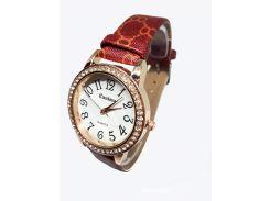 Часы женские кварцевые Kanima Бордовые (KG-0302)