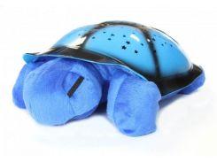 Ночник звездное небо черепаха музыкальный Спартак Blue (004288)